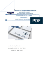 Complaint Management System in c