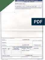 PNB Deposit Slip Form