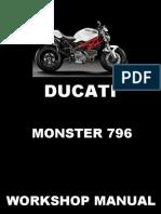 Ducati Monster 796 Service Manual