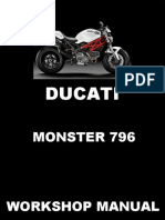 Ducati Monster 796 Service Manual