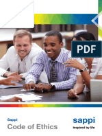 Sappi Code of Ethics Brochure English UK External
