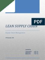 Lean Supply Chain v2
