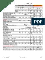 Technical Data Pro1.33