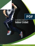 Section 2 Part 7 - Indoor Cricket