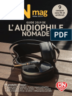 ON mag - Guide Audiophile Nomade 2019
