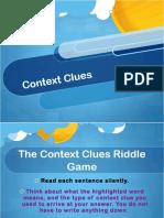 Lesson 2context Clues 1