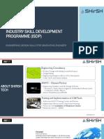 Industrial Skills Development Program (ISDP) Overview