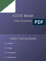 Addie Model of Trng 2