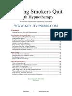 Key Hypnosis Stop Smoking Scripts V7