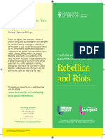 Rebellion and Riots