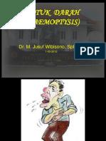 Batuk Darah Dr Jusuf Utk Tgl 1-03-2012