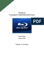 Sony Blu-Ray Campaign(2)