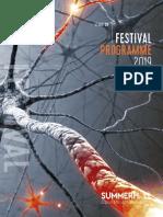 Summerhal Fringe Brochure 2019