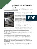 New Paradigm Risk Management Scribd