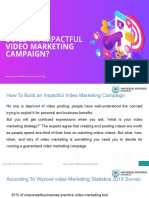 How to Build an Impactful Video Marketing Campaign