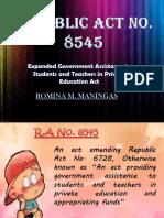 R.A 8545