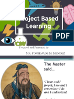 Project Based Education