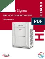 Hitachi VRF Set Free Sigma Catalogue PDF