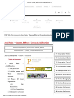 Acid Rain – Causes, Effects _ Ocean Acidification _ PMF IAS