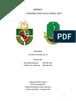 Referat - Perioperative Acute Kidney Injury Sukabumi
