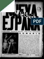 NUEVA ESPAÑA. Nº 6. 15-04-1930