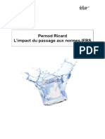 Pernod Ricard L'Impact Du Passage Aux Normes IFRS