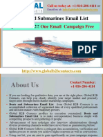 Boats and Submarines Email List