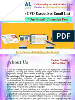 Nevada State CVD Executives Email List