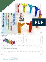 Managing Human Resource-Assignment No. 2-Employee Motivation