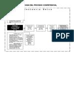 Flujograma  Del Proceso Competencial