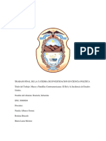 Trabajo Final de La Catedra de Investigacion en Ciencia Politica