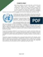 O que é a ONU