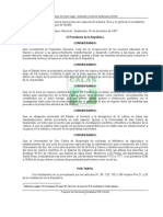 Acuerdo de La Reserva Natural Monterrico