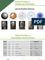 Aula Tabela Periódica e Propriedades Dos Elementos