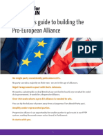 Best for Britain - Work Together Guide to Alliances