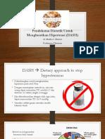 Pendekatan Dietetik Untuk Menghentikan Hipertensi (DASH)