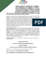 11001-03!24!000-2017-00252-00. - Reforma de La Demanda Consejo de Estado