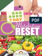 7 Day Metabolic Reset
