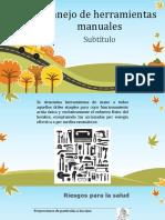 Capacitacion Manejo Adecuado de Herrameintas Manuales