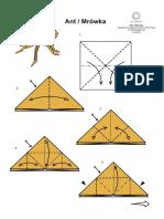 Aligator origami