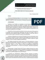 Resolucion Consejo Directivo 096 2019 Resuelve Aprobar La Modificacion Del Reglamento de Licenciamiento