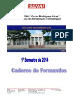Caderno Formandos1º Sem. 2014