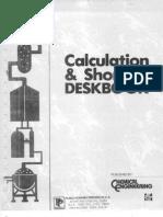 Chemical Engineering - Calculation &Amp; Shortcut Deskbook