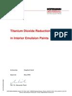 Titanium+Dioxide+Reduction+in+Interior+Emulsion+Paint