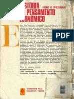 Split_História Do Pensamento Econômico - Hunt & Sherman