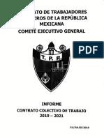 Informe Contrato Colectivo de Trabajo