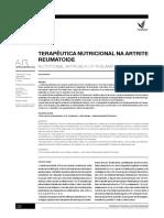 Artigo Nutri e Reumatologicas
