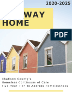 Chatham Co Coc the Way Home 5 Year Plan July 30 2019