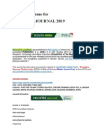 A New Milestone for Register Journal June 2019 Esci Wos