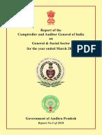 General & Social Sector Government of Andhra Pradesh cag report